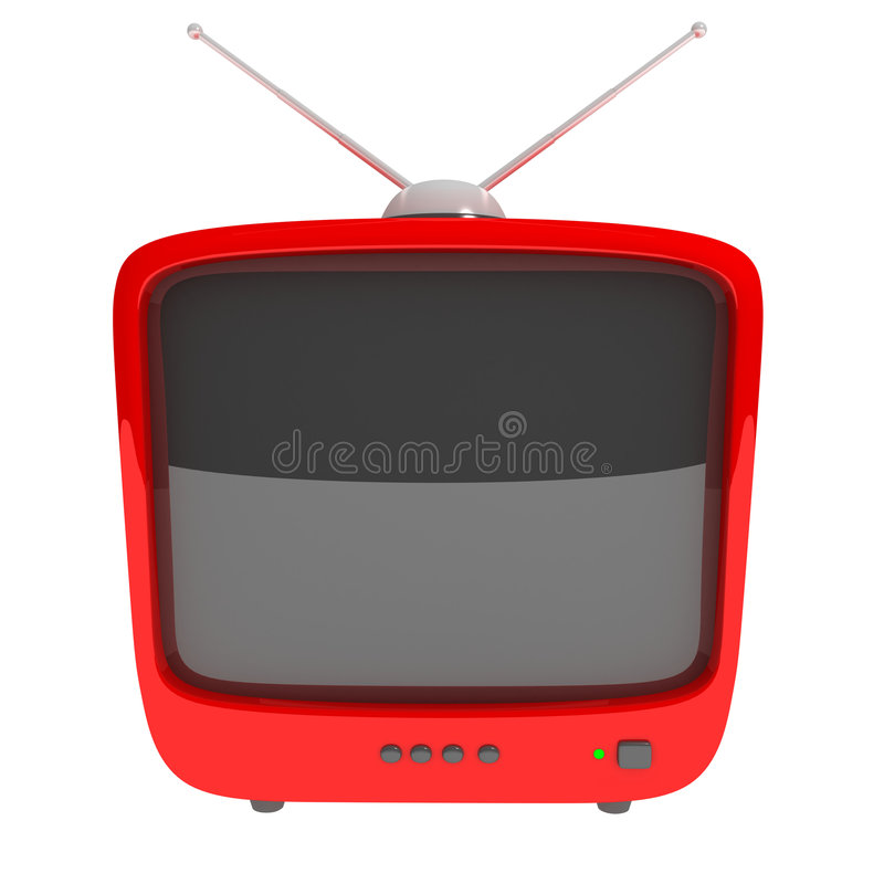 Symbol �TV� royalty free illustration