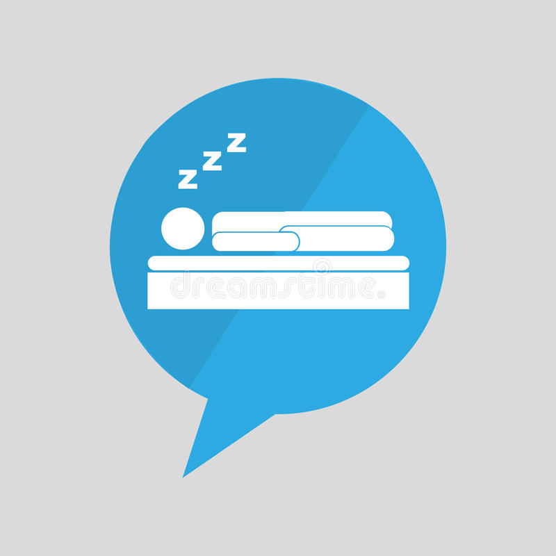 symbol śpi sen projekt ilustracja wektor