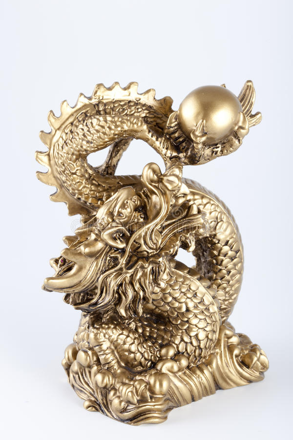 Download Symbol Of 2012 - The Gold Dragon Stock Photo - Image: 20682914