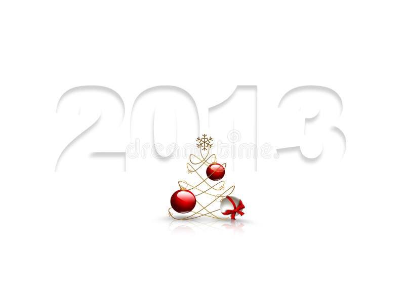 Download Symbol of 2013 year stock illustration. Illustration of christmas - 26134521