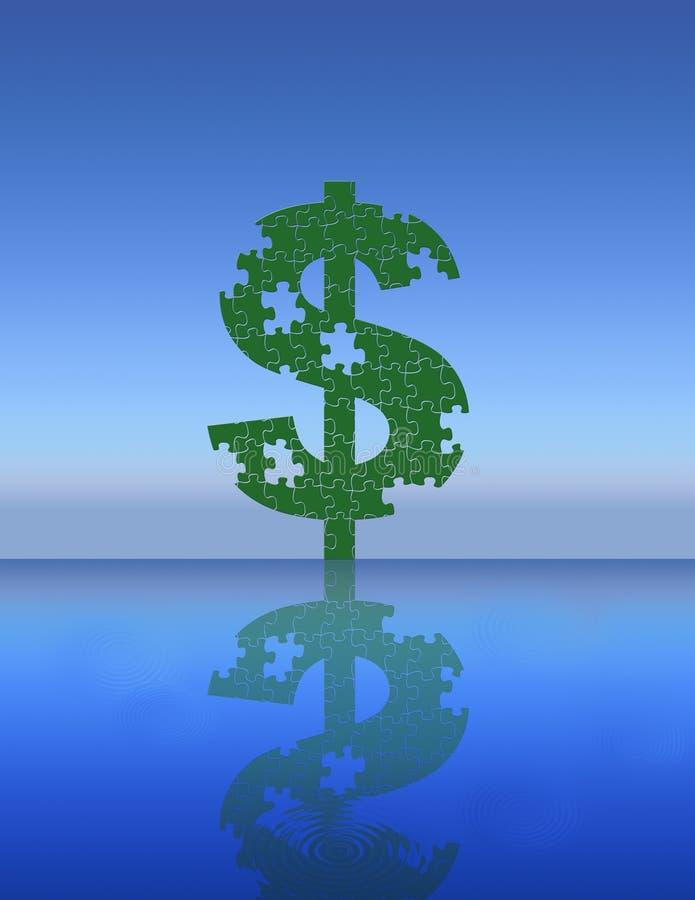 $-Symbol Lizenzfreies Stockbild