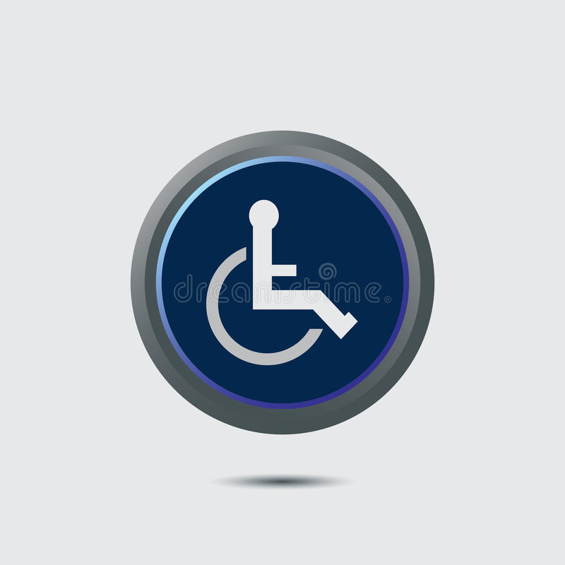 Download Symbol of Access stock vector. Image of disability, eps10 - 27929734