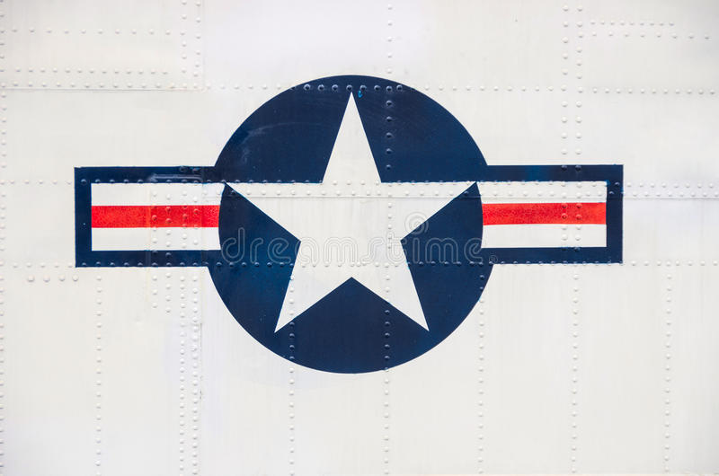 Symbol Of American Airforce Editorial Photography