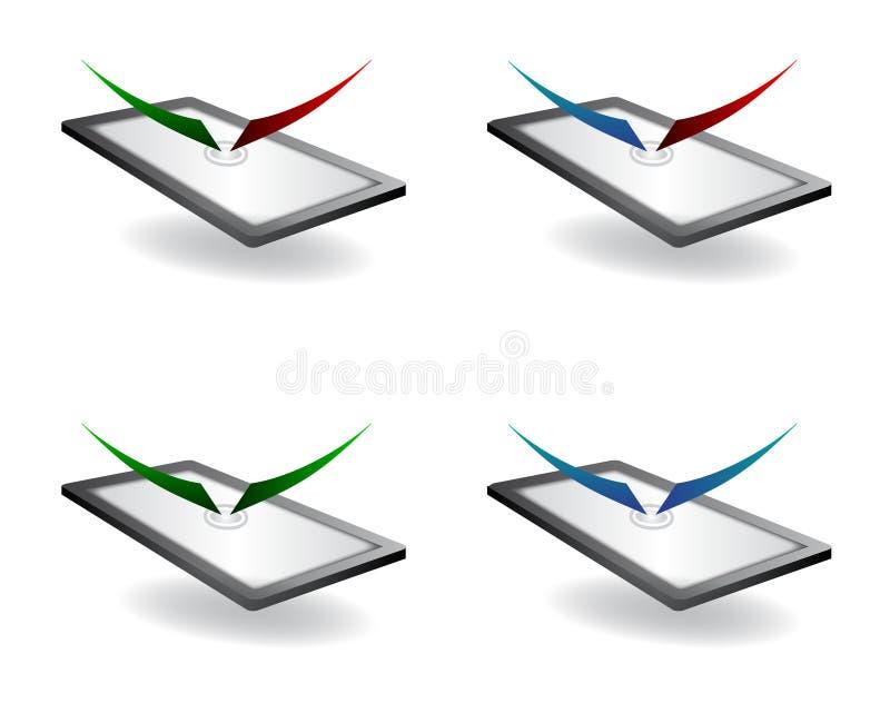 Download Symbol Av Den Globala Kommunikationen Vektor Illustrationer - Illustration av garnering, medel: 37346139