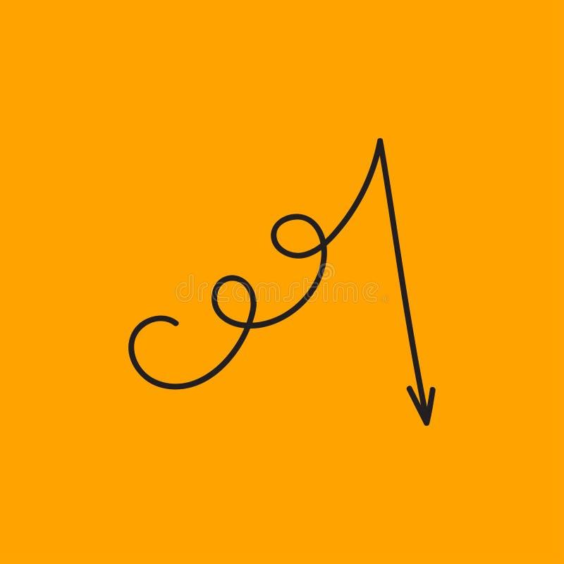 Symbol av fel royaltyfri illustrationer
