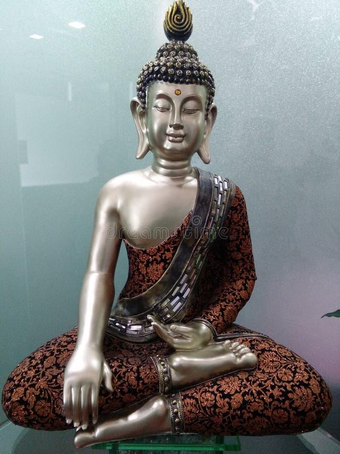 Symbol av fred, buddha royaltyfri foto