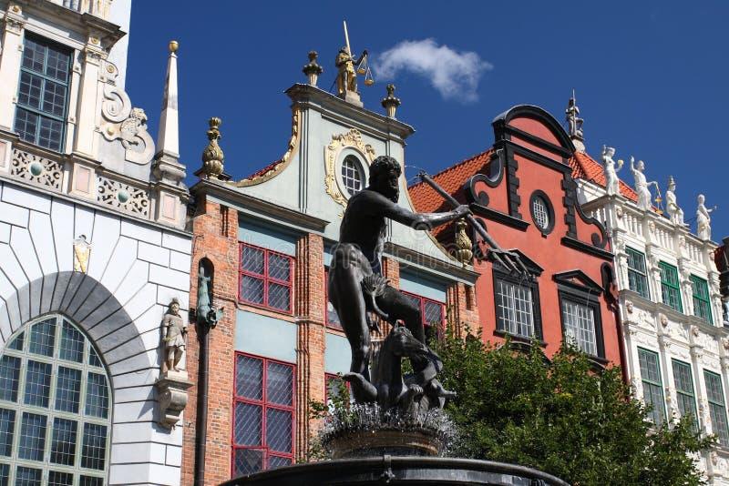 Symbol av Gdansk arkivbilder
