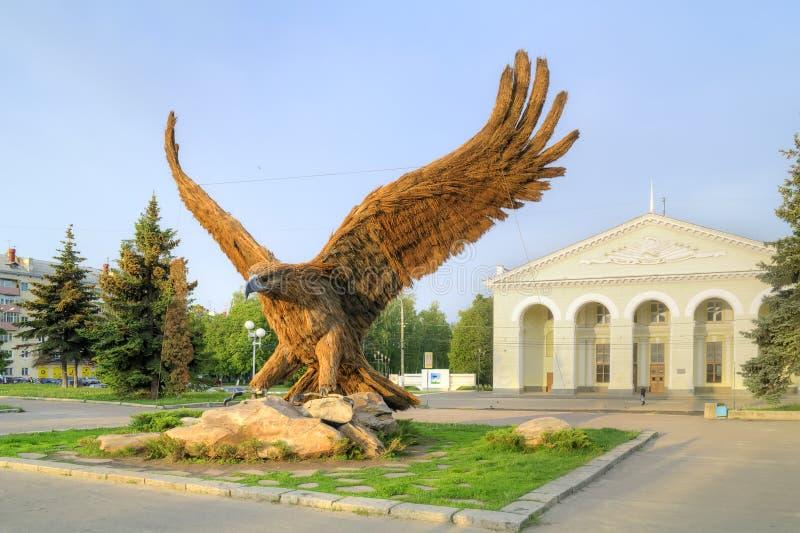 Symbol av staden Oryol fotografering för bildbyråer