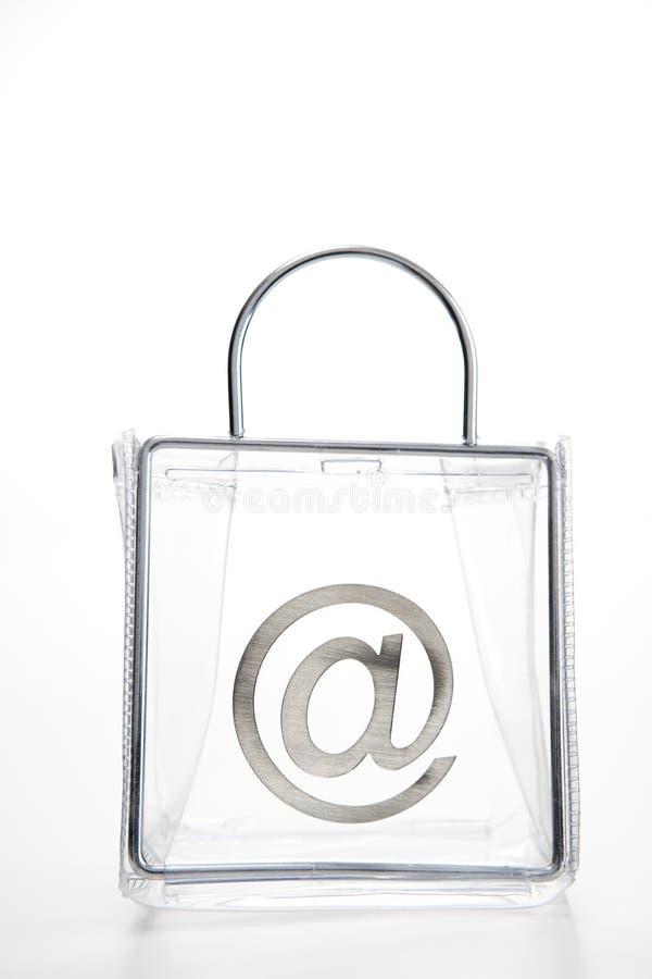 At  Symbol In A Bag Stock Image