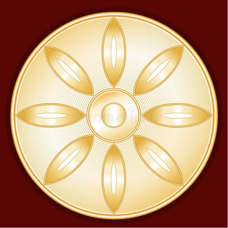 symbol buddyjski ilustracja wektor