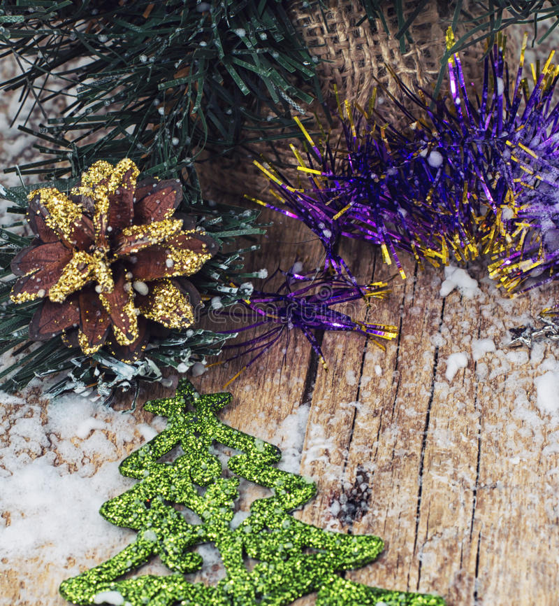 Symbol Christmas. Decoration and toy during winter holidays royalty free stock image