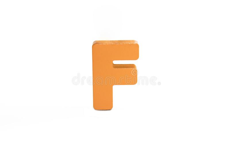 Symbol. Colorful alphabet isolated on white . Capital letter. large, big size. Symbol. Colorful alphabet isolated on white background. Capital letter. large, big stock photography