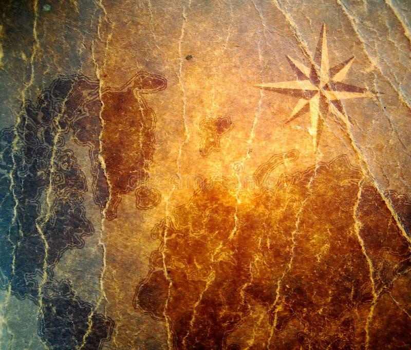 symbol cyrklowa stara tekstura obraz royalty free