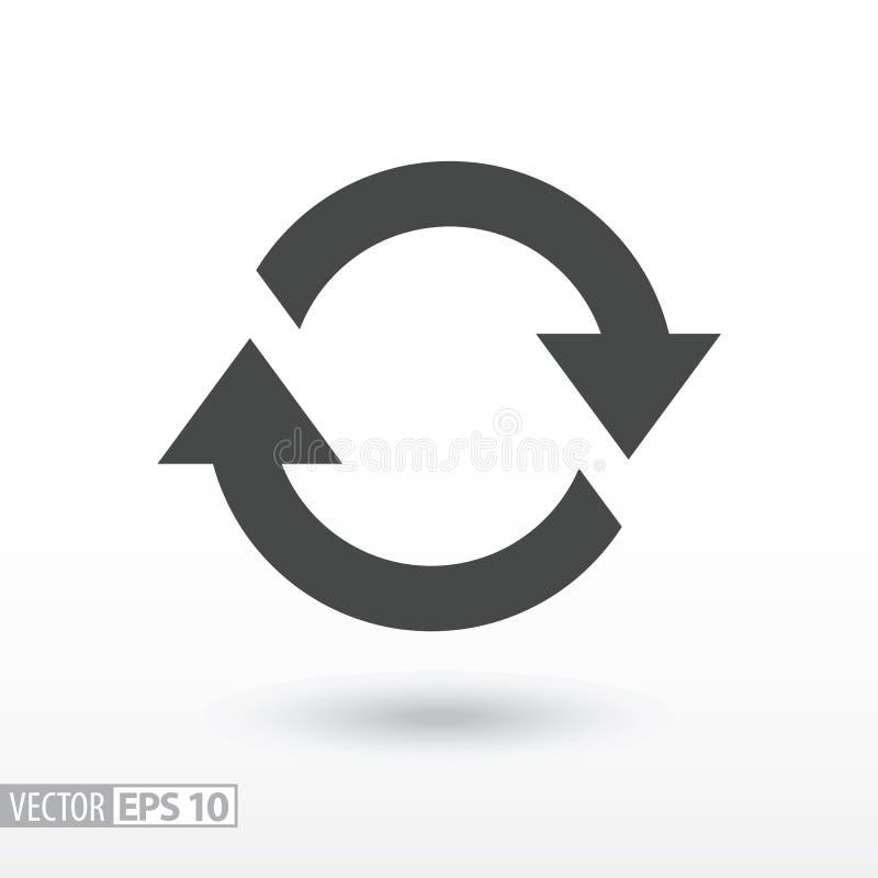 Symbol Der Bewegung, Rotation, Zyklisches Wiederauftreten Stockfoto ...