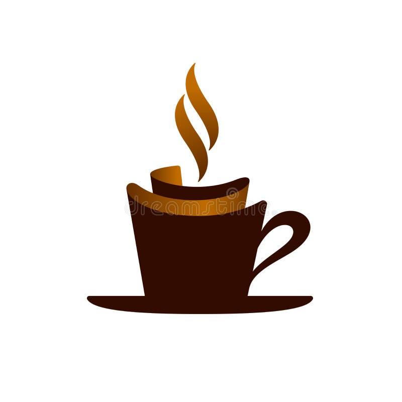 Symbol der heißen Schokolade, Illustration vektor abbildung