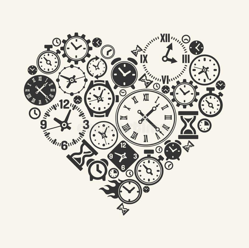 Symbol der Liebe für immer vektor abbildung