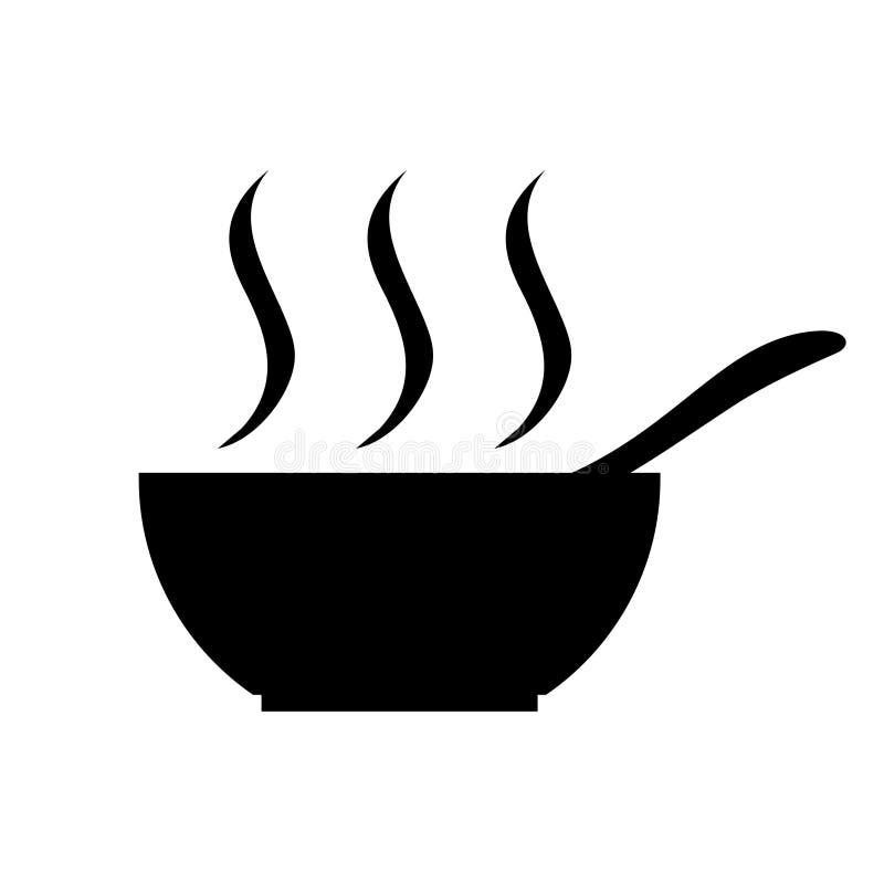 Symbol der warmen Küche vektor abbildung