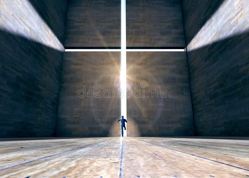 Symbol des Glaubens lizenzfreie stockbilder