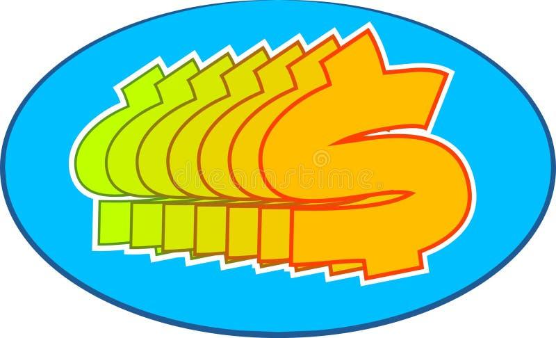 Symbol Dolara Zdjęcie Royalty Free