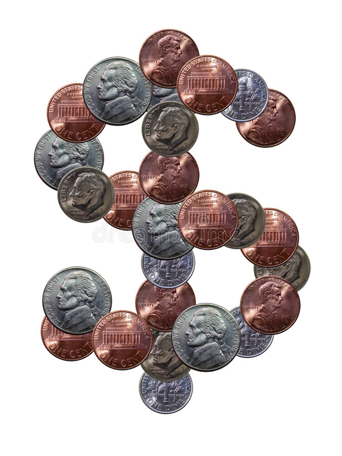 symbol dolara obrazy stock