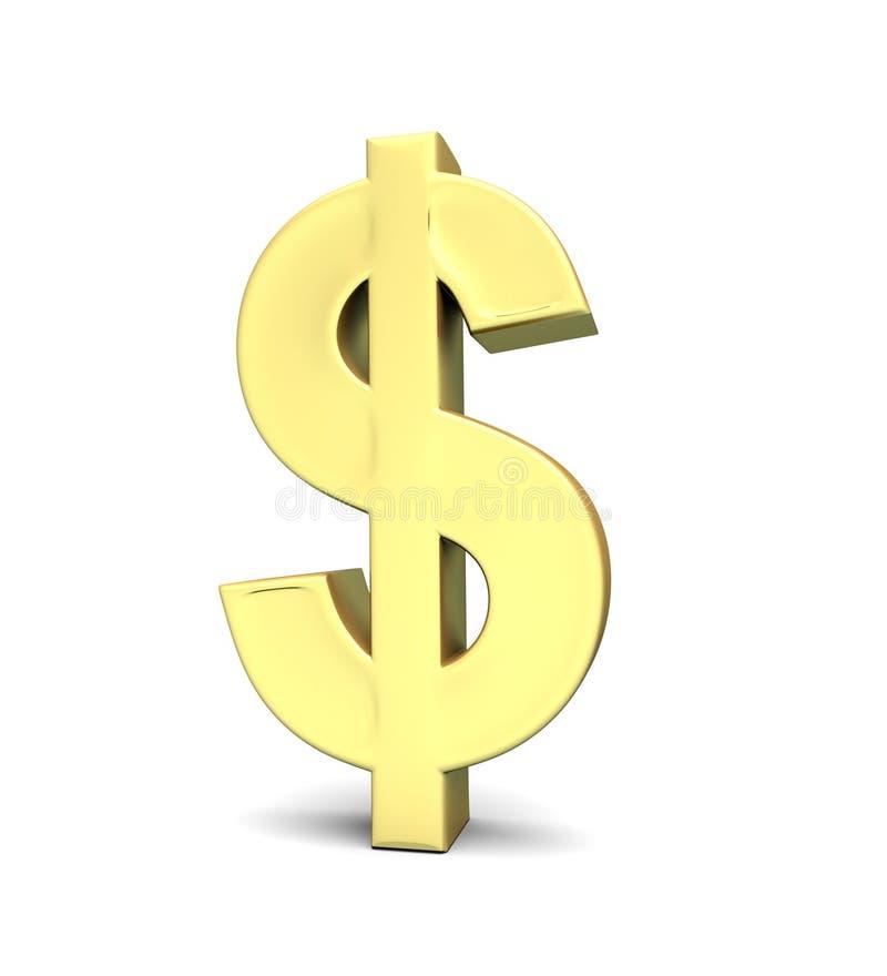 Symbol Dolara Waluty Fotografia Stock