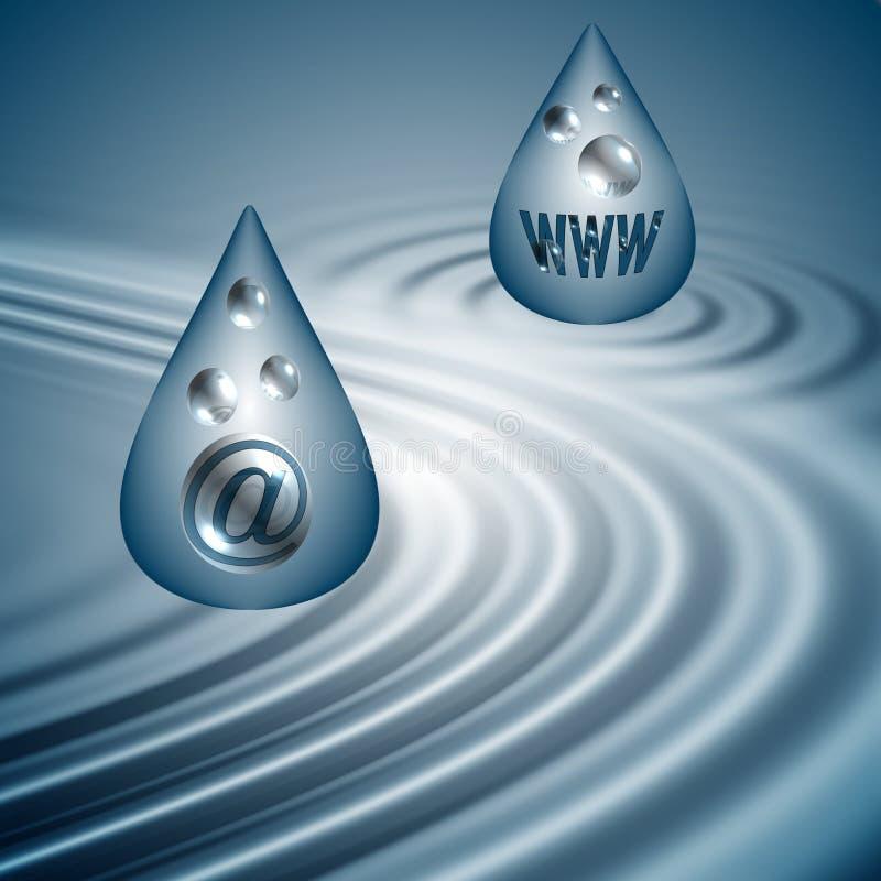 Download Symbol Drops Web Background Stock Illustration - Illustration: 83879