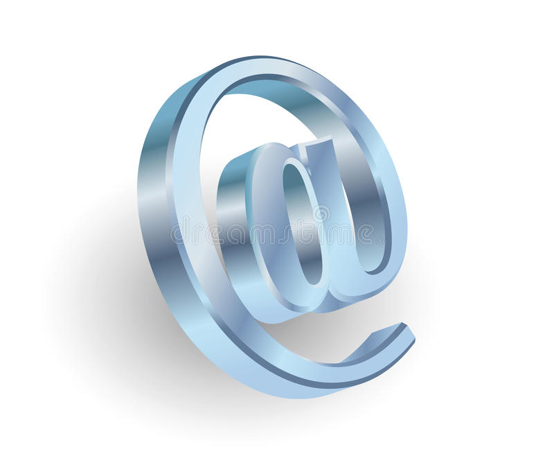 Download Symbol Of E-mail Stock Photo - Image: 12758540