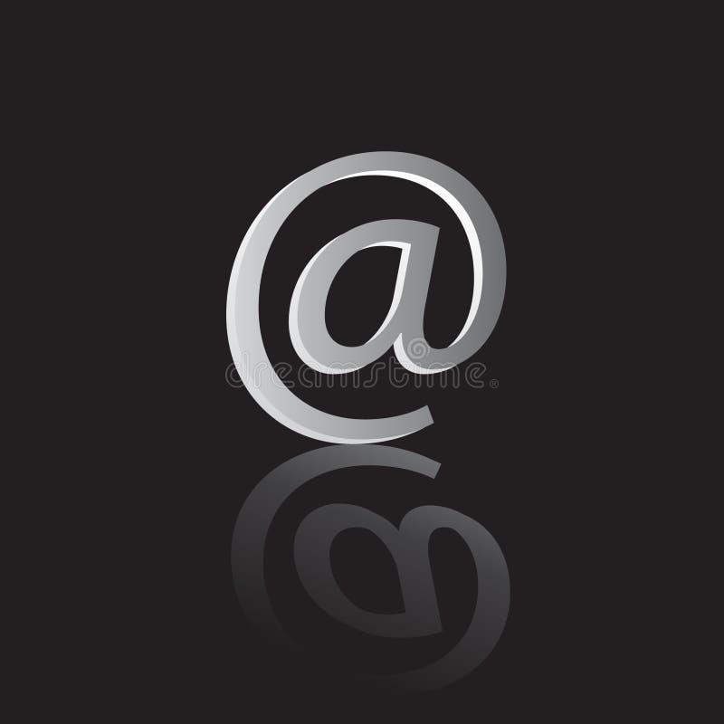 Symbol-E-Mail. lizenzfreie abbildung