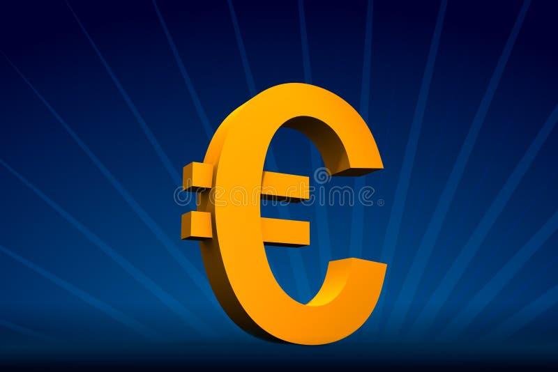 symbol euro ilustracja wektor