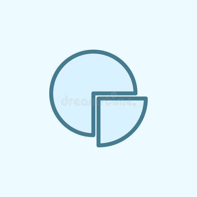 symbol för översikt för informationspajfält Beståndsdel av den enkla symbolen för 2 färg Tunn linje symbol för websitedesignen oc vektor illustrationer
