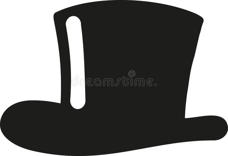Symbol för bästa hatt vektor illustrationer