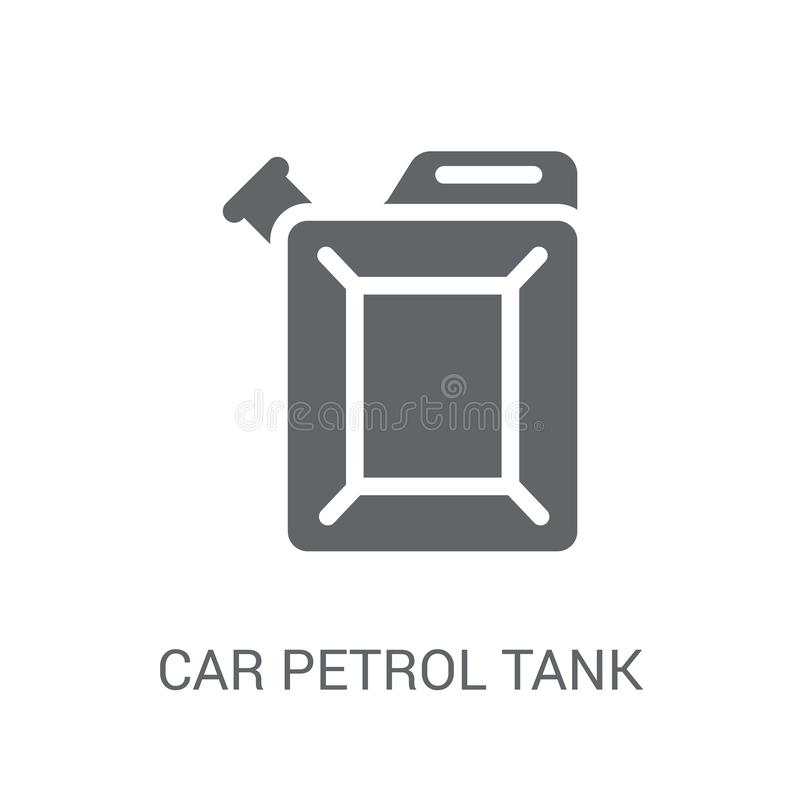 symbol för bilbensinbehållare  vektor illustrationer