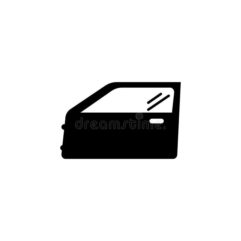Symbol för bildörr vektor illustrationer