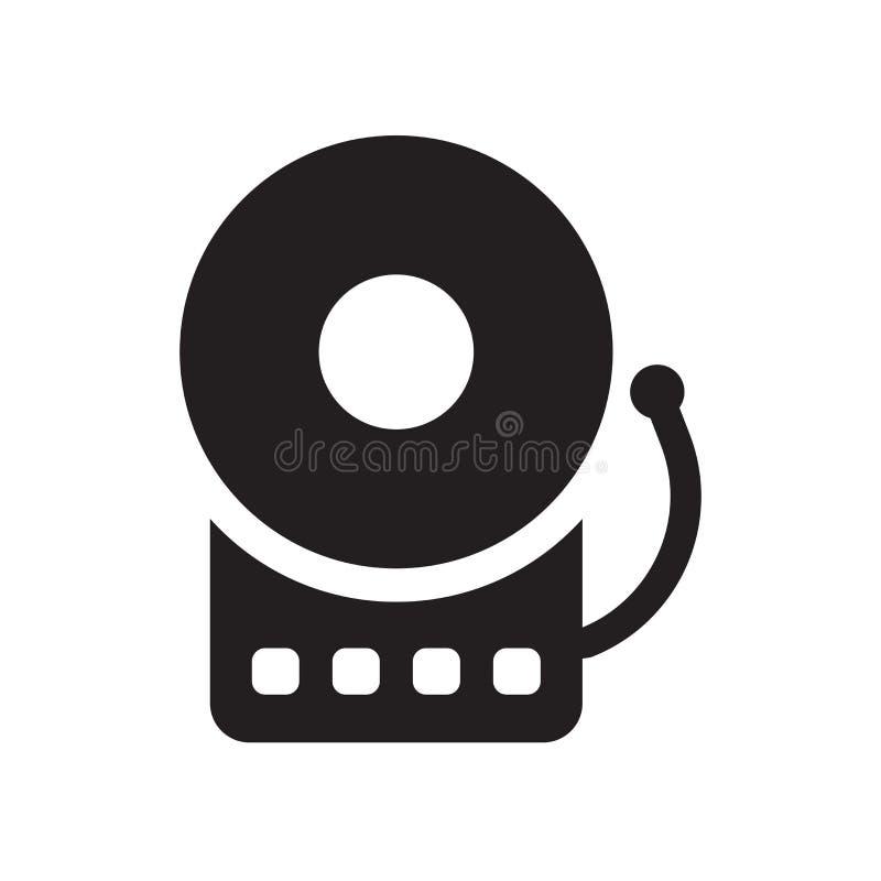 Symbol för brandlarm  stock illustrationer