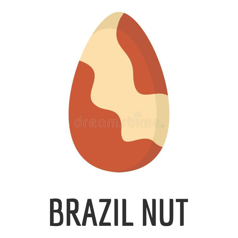 Symbol för Brasilien mutter, lägenhetstil stock illustrationer