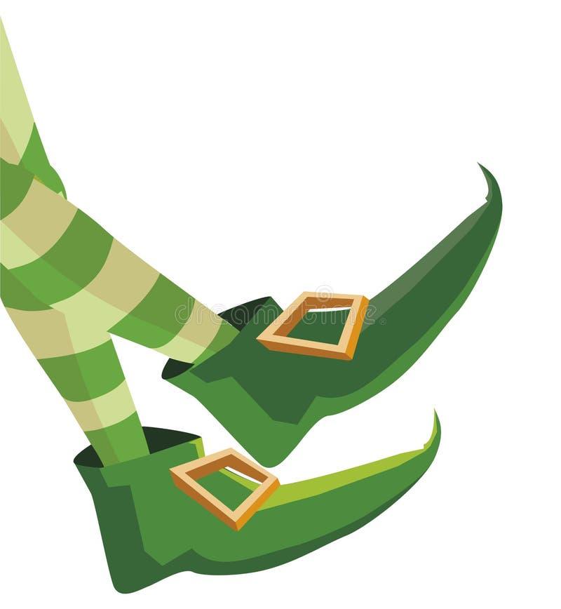 Symbol för dag för patricks för Lemprechaun choeshelgon vektor illustrationer