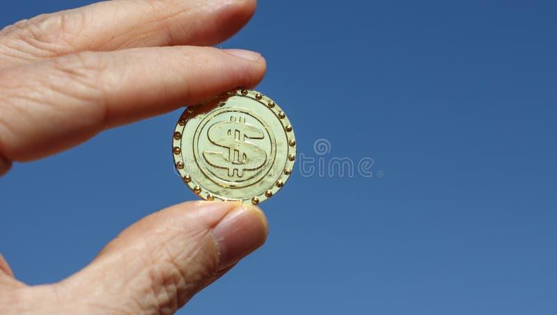 Symbol för faktisk valuta för bitcoinblockchain arkivbild
