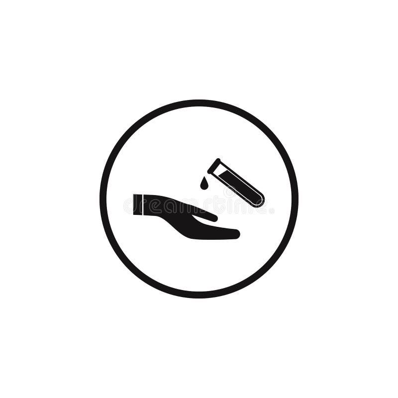 symbol för farligt kemiska beståndsdelar för tecken Riskmomentet undertecknar symbolen Högvärdig kvalitets- symbol för grafisk de vektor illustrationer
