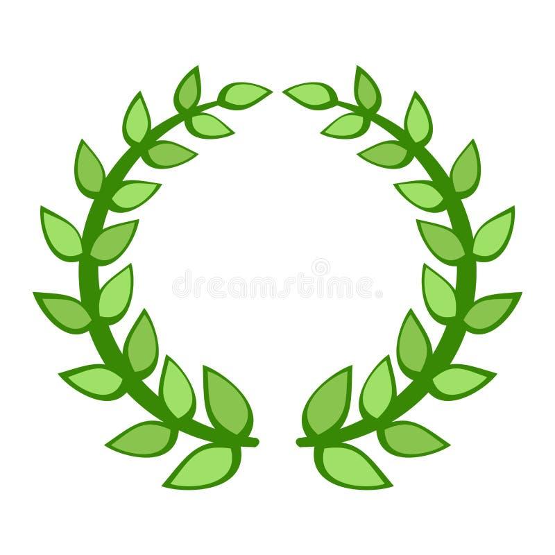 Symbol för filialutmärkelsevektor royaltyfri illustrationer