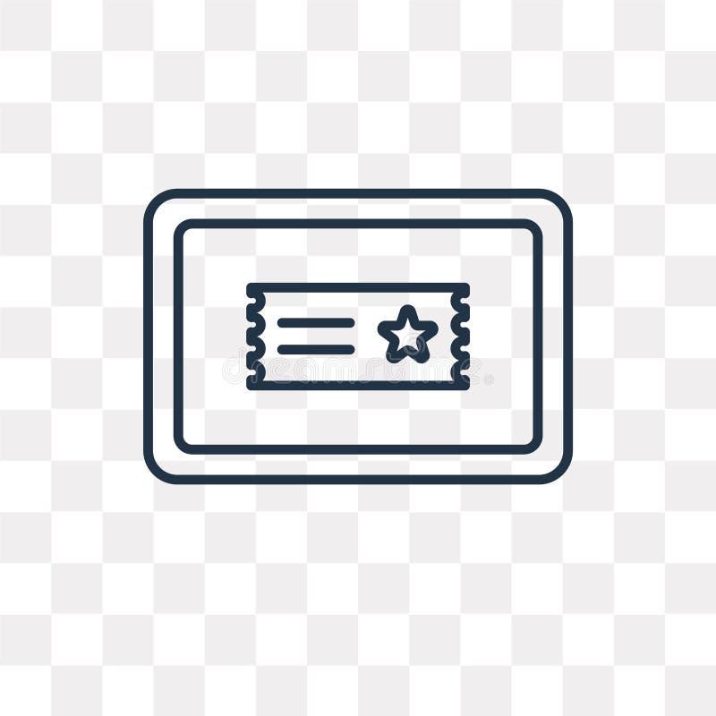 Symbol för filmaffischtavlavektor som isoleras på genomskinlig bakgrund, vektor illustrationer
