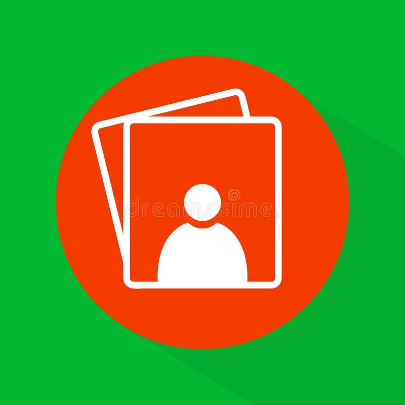Download Symbol för fotogalleri stock illustrationer. Illustration av element - 78726232
