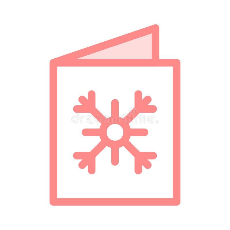 Symbol för hälsningkort royaltyfri illustrationer