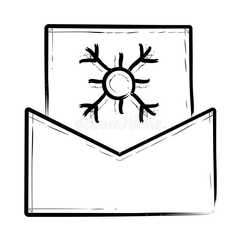 Symbol för hälsningkort stock illustrationer