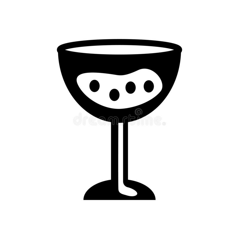 Symbol för hårt vatten Moderiktigt logobegrepp för hårt vatten på den vita backgroen vektor illustrationer