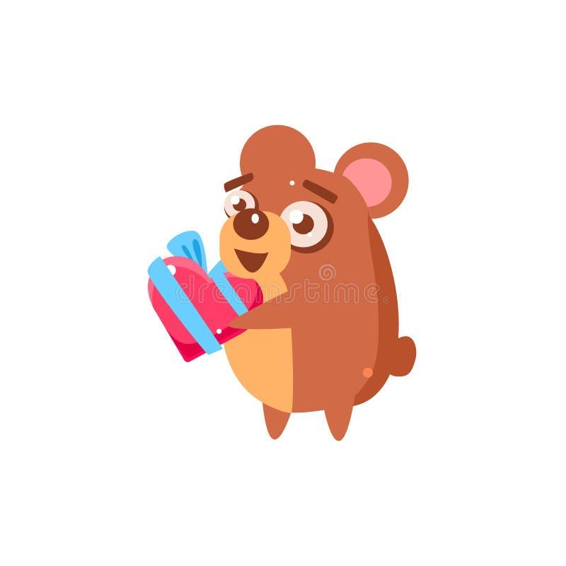 Symbol för hamsterpartidjur royaltyfri illustrationer
