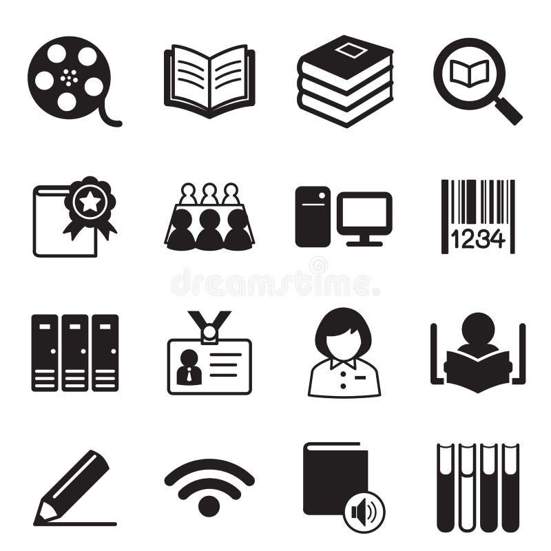 Symbol för illustration för arkivsymbolsvektor royaltyfri illustrationer