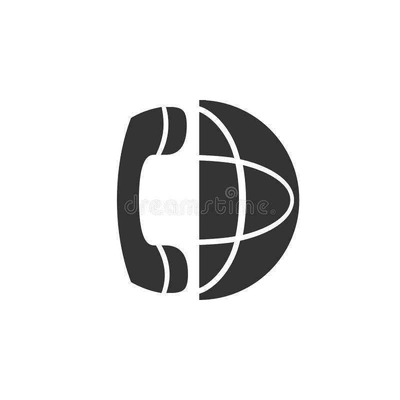 Symbol för internationell appell vektor illustrationer