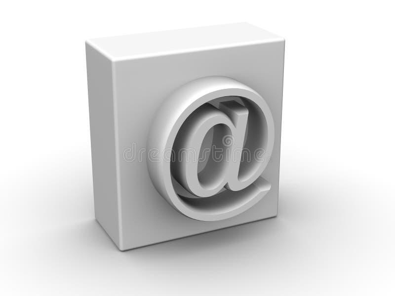 Symbol för internet arkivfoton