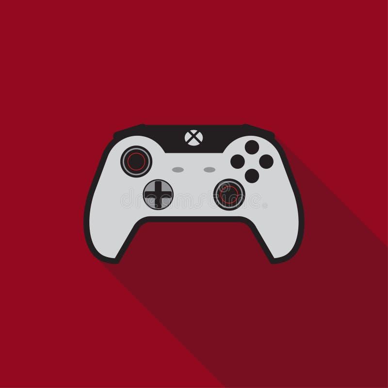 Symbol för konsol för lek för glädjepinne vektor illustrationer