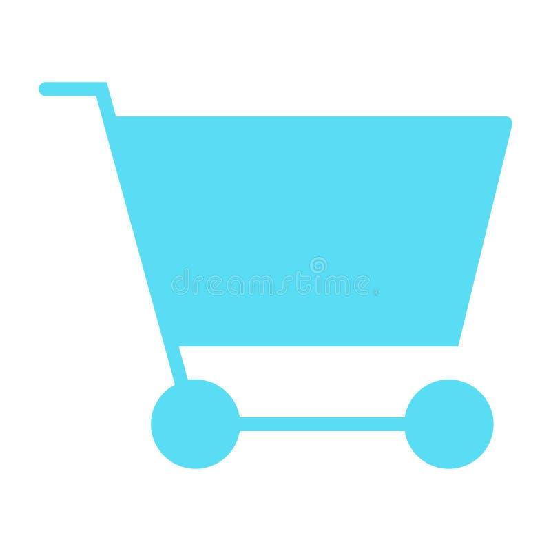 Symbol 48x48 för kontur för vektor för PIXEL för shoppingvagn perfekt Enkel minsta Pictogram vektor illustrationer